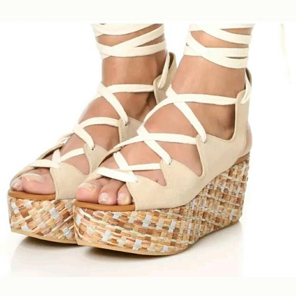 56e269b8b See by Chloe Liana Lace Up Wedge Sandals Platform.  M_5af9f53edaa8f65d675801d8